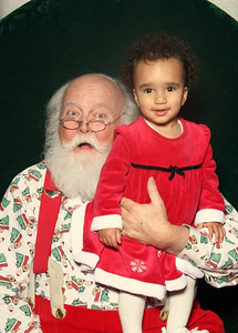 Esther and Santa