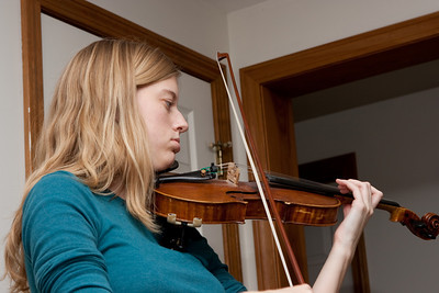 Ellie playing a concerto  by Saint-Sans.