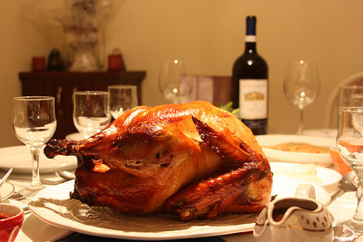 Dad's style roast turkey