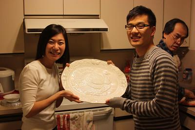 Turkey Platter award presentation LOL