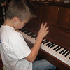 Hayden's piano lesson