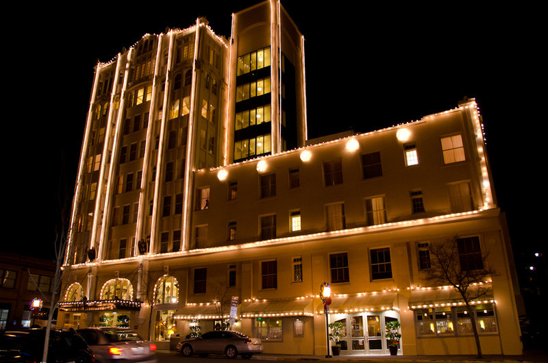 The Ashland Springs Hotel.
