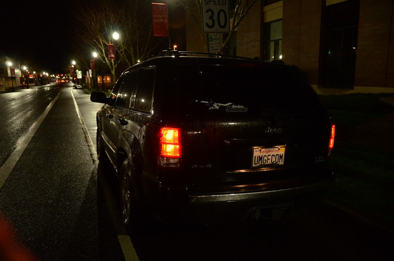 Our Jeep Grand Cherokee has made the trip to Oregon many times, including the day after we first bought it.