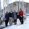 Janet, Duncan, Lillian, Vivian & Kitty, Billy, and Tundra<br /> 24 December 2011 @ Brighton, Utah