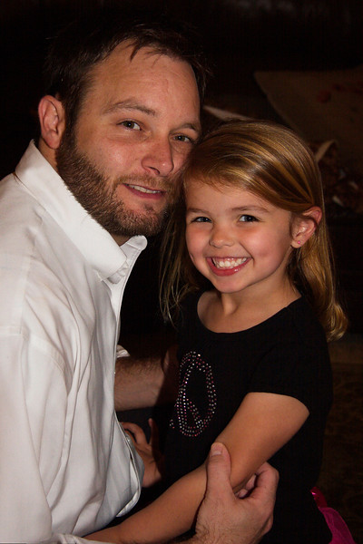 Ella loves her Daddy!