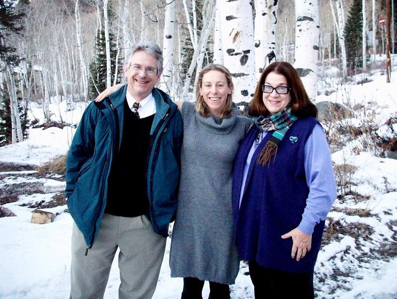 Duncan, Lillian, and Jan<br /> 24 December 2011 @ Brighton, Utah