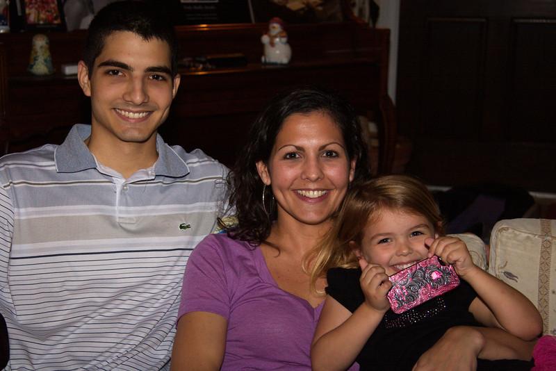 Scott, Julie and Ella