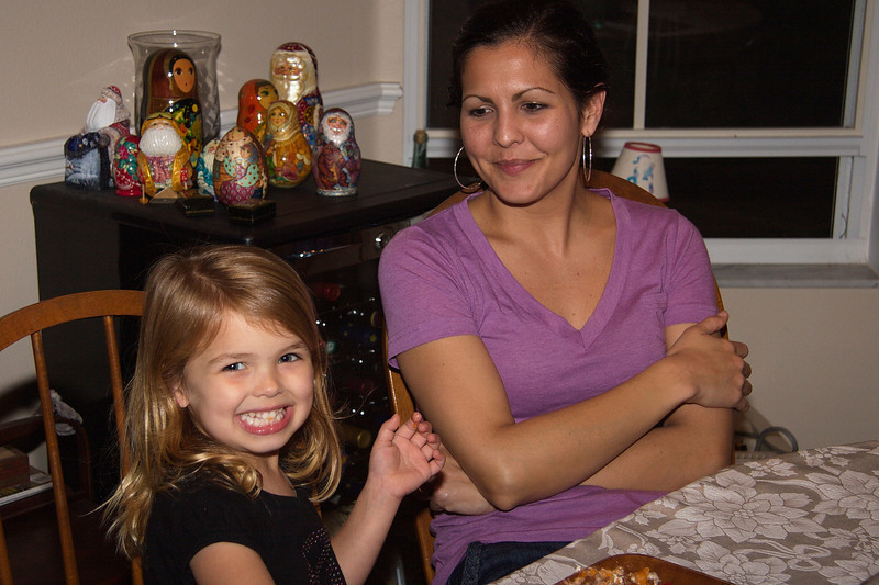 Ella and Mommy