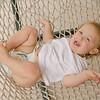 Gideon at 14-1/2 months - hammock fun