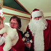 Lucie, Grandma Sharon, and Santa