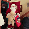 Oh my!!   Santa makes a visit while the children are still awake !!
