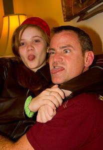 Noelle & Bill strike a pose