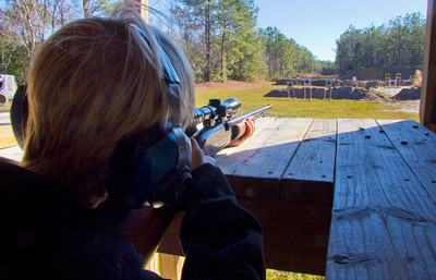 Kaleb at range
