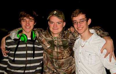three amigos, Chip, Blake, Fox
