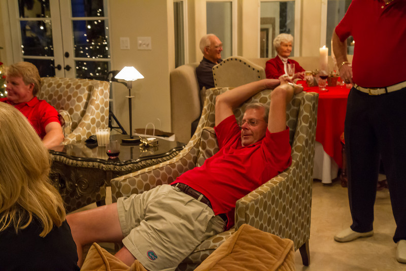 Thank you Mike and Patsy for a great Christmas!!!!  You deserve to stretch out and relax.