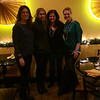 Dinner with the girls at Miss Saigon in Georgetown: Amy, Mariana, Sarah & Roxanne.