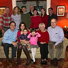 The group on Christmas Eve at the Yates House