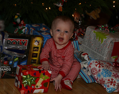Cayden's first Christmas