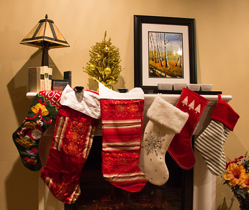 And the Stockings All Set by the Chimney….
