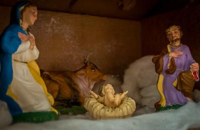 Mom's Nativity Scene