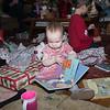Fiona loves her books!