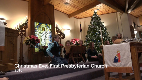 Christmas eve, Church, 2016