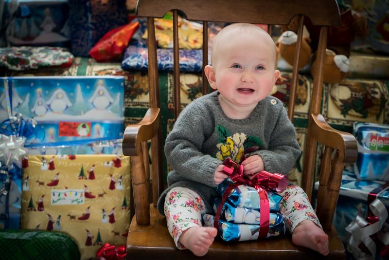 Aurelia's first Christmas