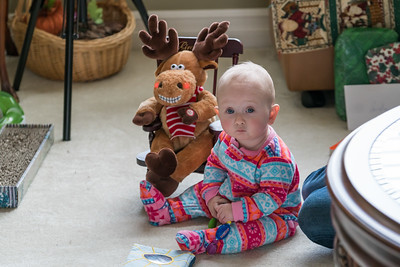 Aurelia's first Christmas