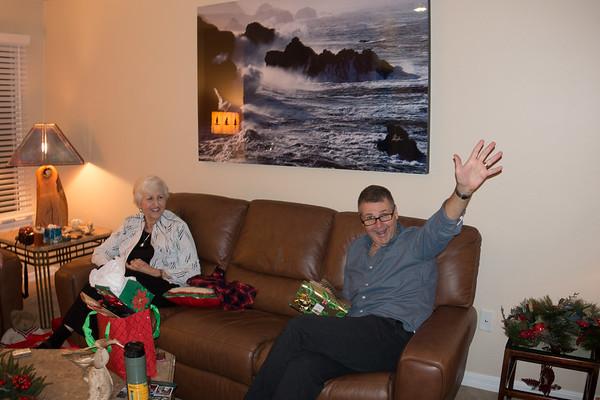 Ray loves Christmas!