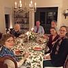 Christmas with the Barkers in Hingham, MA. Sandy, Sally, Bob, Steve, Suzy and Hemma.
