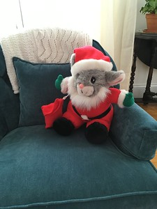 Santa Mouse-a gift from Patty Hammel when Colin and Pete were toddlers