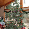 Griswold tree on Christmas day was full of presents