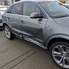 Damage to the Audi from Christmas Day collision.....