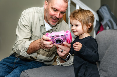 Jeremy and Kenzie both like the new camera.