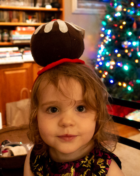 Fiona is  a Plum Pudding!