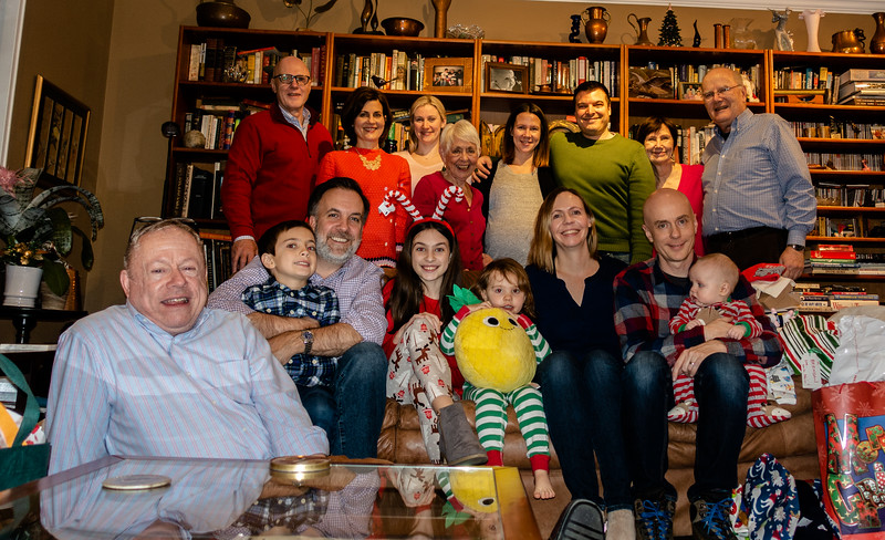 The Annual Christmas Group Photo