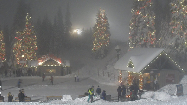 Christmas At Grouse Mountain - 2015