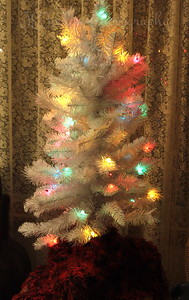 Grandma Hat's fake tree, 2012