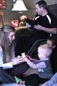 Christmas fun at Matt's.  12-25-2012 - Katie with GS-2