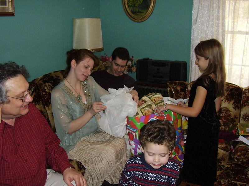 Wendell, Lenora, Lenora's fiance Greg, Carlos, and Kira.