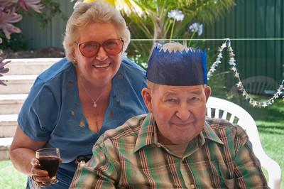 Mum & Dad, Dad's last Christmas.