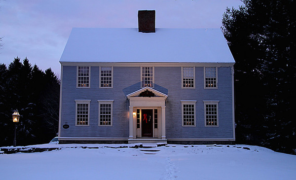 The Major Abner Morgan House, 1783<br /> Listed on the National Register of Historic Places