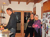 David, Frannie and Holly in the kitchen