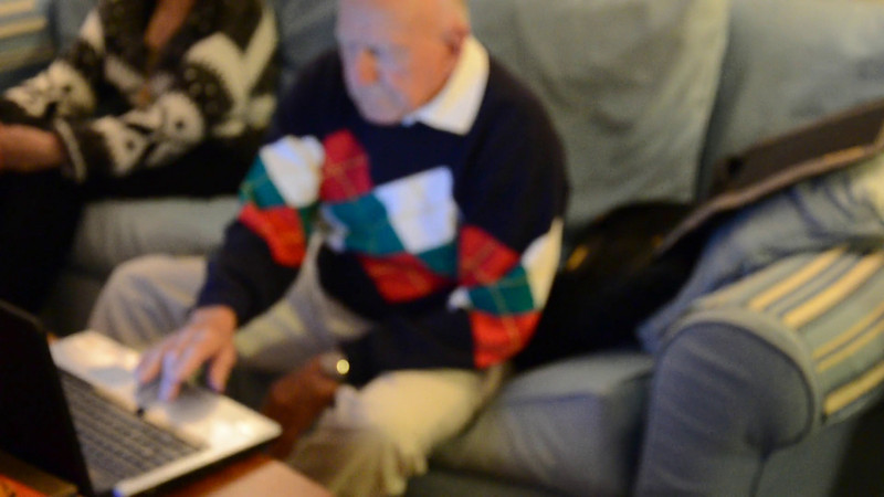 Video: Grandpa does Christmas eve email, and more!