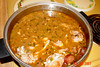 "Theresa's famous "" Chicken and Sausage Gumbo""!  YYYYUUUUUUMMMMMM!"