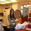 Hannah finds the platters after a long search