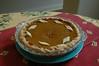 Pumpkin pie by Casey.