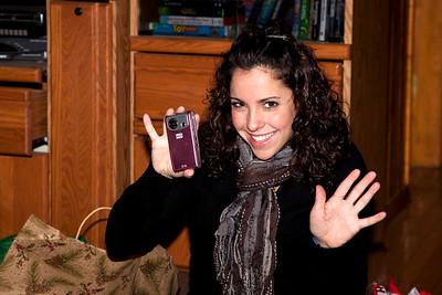 Christina gets a video camera