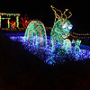 The sea serpent is always one of the hits of the light show.