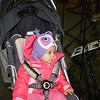 Close-up of Charlotte in her stroller.